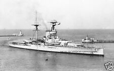 ROYAL NAVY REVENGE CLASS BATTLESHIP HMS RAMILLIES ENTERING MALTA IN 1940