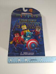 Art Asylum MINIMATES Marvel New Avengers 4 Pack