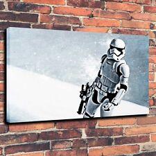 Home Decor Art Canvas Print Oil Painting Star Wars Stormtrooper Oruzhie 16