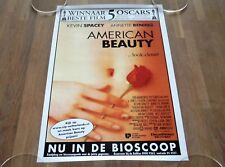 ORIGINAL MOVIE POSTER AMERICAN BEAUTY 2000 SMALL SIZE A4 BOOMERANG HOLLAND