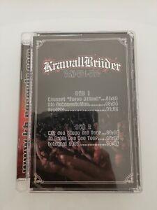 KRAWALLBRÜDER Veni-Vidi-Vici 2Doppel DVD Konzert + Tour Film
