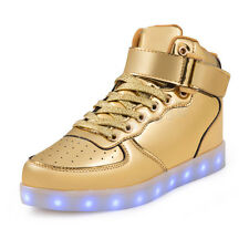 SAGUARO LED Light Lace Up Luminous Shoes Sportswear Sneaker Casual Shoes Unisex