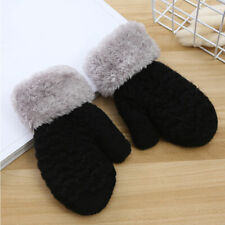 Kids Gloves Winter Warm Thick Velvet Plush Gloves For Children Girls Boy Mittens