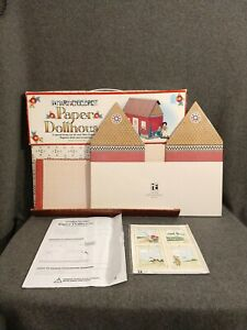 Mary Engelbreit Magnetic Paper Dollhouse - missing cable protector - unused