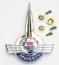 Morris Moggi Minor Bonnet Lid Badge, Austin Morris part AAA3958