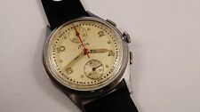 TELDA chronograph vintage watch handwinder caliber Venus 170
