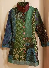 Desigual coat, designer, patterned, jacket