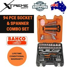 Bahco 94pce Socket & Spanner Combo Set #S87+7