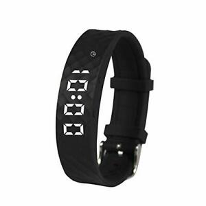 Vibrating Reminder Wrist Watch - With Up Yo 10 Daily Alarms