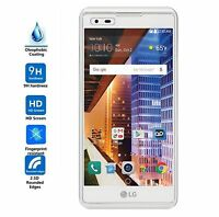 [3-Pack] Premium Tempered Glass Screen Protector Guard For LG Tribute HD LS676