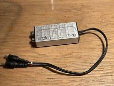 Ortofon T-10 Stereotransformer MC zu MM Transformer funktioniert einwandfrei
