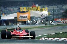 Gilles Villeneuve Ferrari German GP 1980 Photograph