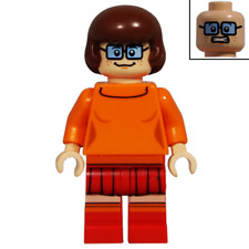 NEW LEGO VELMA FROM SET 75904 SCOOBY-DOO (scd005)