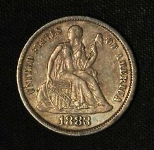 1883 10c Seated Liberty Silver Dime - Free Shipping US
