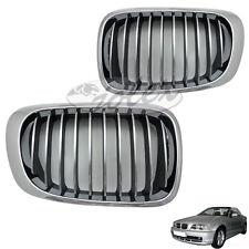 Kühlergitter Kühlergrill Niere CHROM rechts+links SET BMW 3er E46 Coupe Cabrio