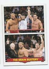 2012 TOPPS WWE HERITAGE FABLED TAG TEAMS #2 THE BRAIN BUSTERS