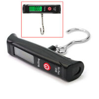 Portable LCD Digital Travel Luggage Scale Hook Hanging Weight 110lb/50kg New