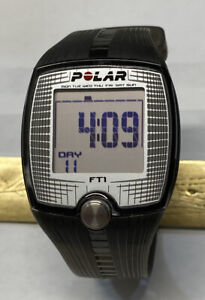 Polar FT1 Heart Rate Monitor Watch New Battery Working Excellent