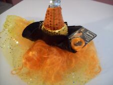 Bootique Candy Corn Dog Witch Costume, Size S/M
