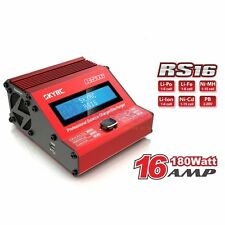 SKYRC RS16 180W/16A Balance Charger for RC Lipo Li-Fe Li-Ion Ni-Cd PB Red Color