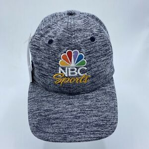 NBC sports Embroidered Promo dad hat heather gray new w/ tags