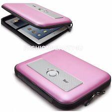 iLuv iSP210 Powered Travel Speaker Protective Zipper Case  iPad 2 3 4 + Tablets