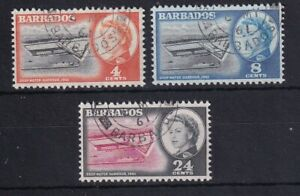BARBADOS 1961 Opening of Deep Water Harbour Set USED