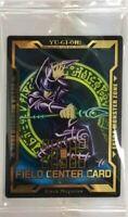 Japanese Yugioh Dark Magician Field Center Card Legendary Gold Box