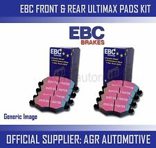 EBC FRONT + REAR PADS KIT FOR SEAT ALHAMBRA 1.4 TURBO 150 BHP 2010-