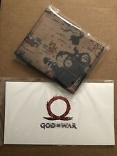 God of War Stone Mason Collector�€™s Edition - PS4 - Cloth Map & Lithograph - NEW!