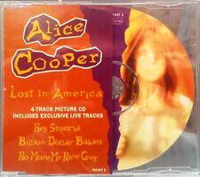 Alice Cooper - Lost In America Picture CD Single (CD 1994) (+ 3 Live Tracks)
