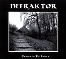 DEFRAKTOR - THEMES FOR THE LUNATIC - CD DIGIPACK 2004 Industrial, Ambient - DP