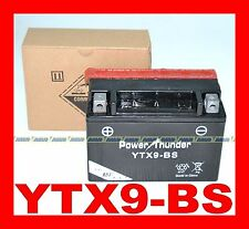 MOTORCYCLE BATTERY AND SCOOTER YTX9-BS PT-BATTERY YTX9BS YTX9 BS = YUASA Y T X 9