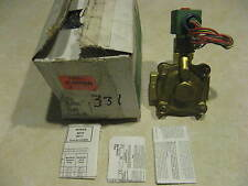 """Asco Red-Hat II Solenoid Valve 8210G4MO 1"""" 120V 2 Way Normally Closed"""