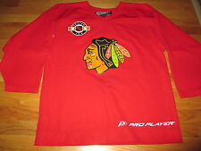 Pro Player CHICAGO BLACK HAWKS Center Ice Replica Practice (MED) Jersey
