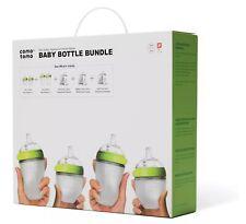 Nib Comotomo Baby Bottle Bundle, Green