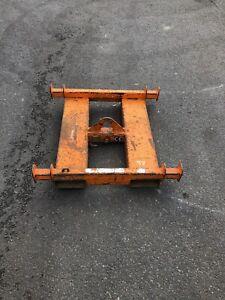 2 Ton Eichinger Forklift pallet forks crane jib lifting hook tractor