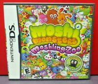 Moshi Monsters Moshling Zoo - Nintendo DS DS Lite 3DS 2DS Game Complete + Tested