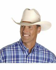 """Stetson 10X Grant Straw Hat 3 1/2"""" Brim Profile 28+ Free Original Stetson Box!!"""