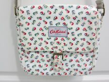 CATH KIDSTON White W/ Roses Oil Cloth CROSSBODY Hand Bag  NWOT