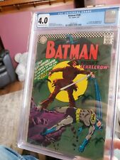 Batman #189 CGC 4.0, 1st Silver Age appearance of the Scarecrow. (Feb 1967, DC)