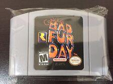 Conker's Bad Fur Day N64 Cartridge *Fast/Free Shipping* Read Desc Test&Working