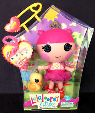 "Lalaloopsy Soft Plastic Doll ""Tippy Tumblelina� With Pet Duck (New In Box)"