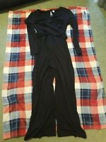 Nwt Womens Old Navy Maternity Black Jumpsuit Size M