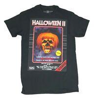 Halloween 2 Michael Myers Movie Poster VHS Retro Mens T Shirt