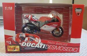 Troy Bayliss Ducati Desmosedici Maisto 1 : 18 MotoGP #12