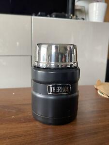 Thermos Stainless King 470 ml Food Vacuum Flask - Gun Metal