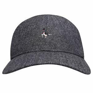 Jack Wills Mens Brigsley Herringbone Wool Cap Baseball New