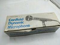 VINTAGE REALISTIC RADIO SHACK CARDIOID DYNAMIC MICROPHONE # 33-1073 NIB NOS