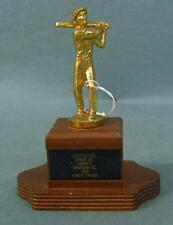 Vintage 1950s group of CARTERET baseball and basketball R. LUKACH trophies! (11)